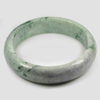 414 Ct. Size80x64x17Mm. Natural Gemstone Multi-Color Jade Bangle Unheated